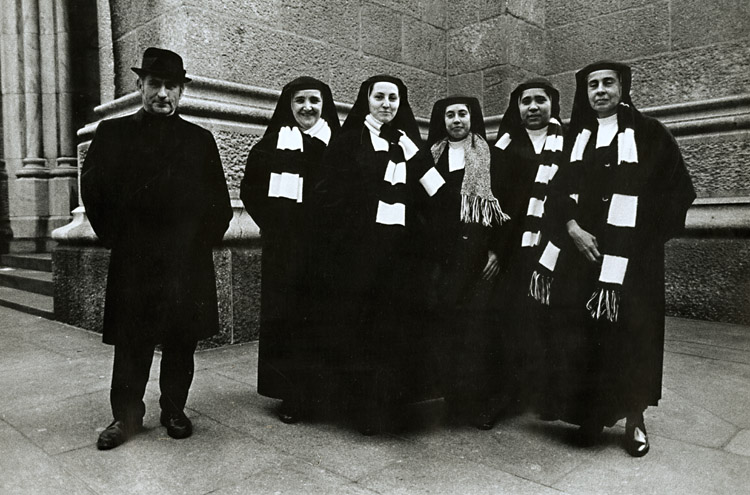 Susan McCartney - Priest and Nuns, St. Patrick's Cathedral, NYC