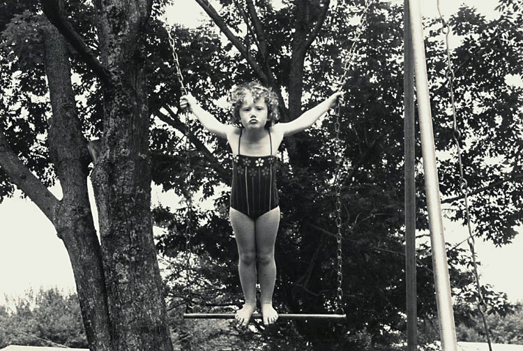 Susan McCartney - Caroline on Swing