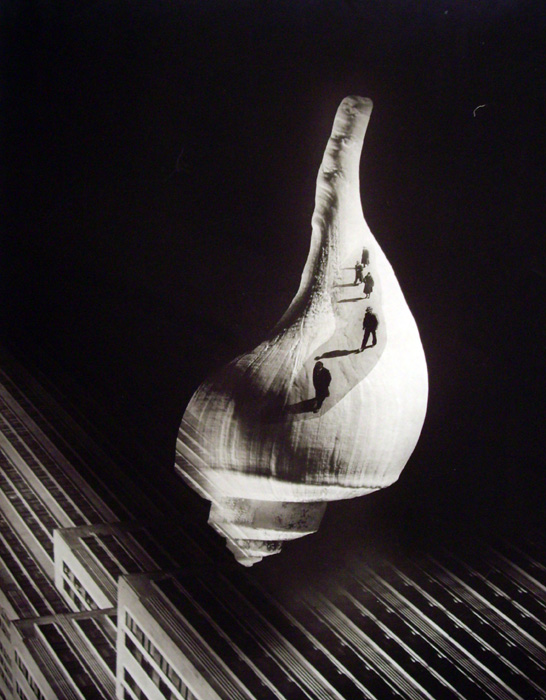 Barbara Morgan - City Shell (Photomontage)