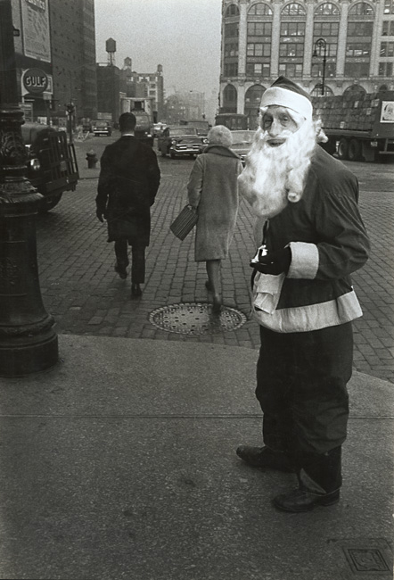Susan McCartney - Santa on Houston Street, NYC