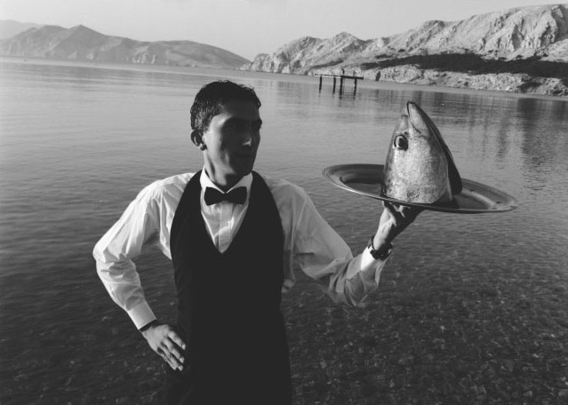 Stanko Abadžic - Waiter Serving Fish Head