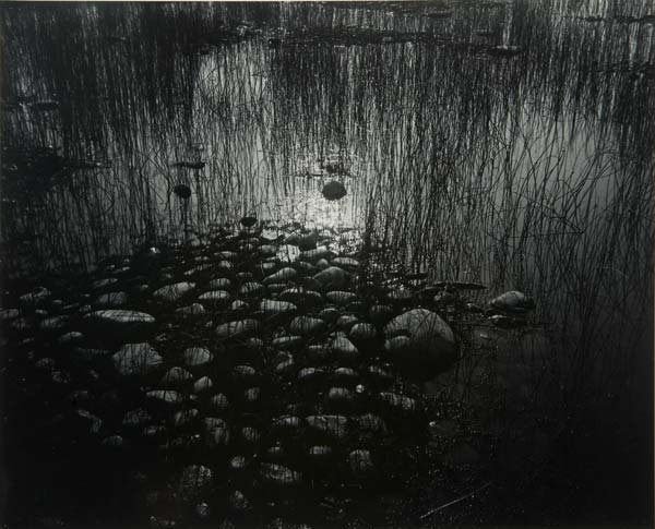 Arthur Siegel - Pond and Rocks