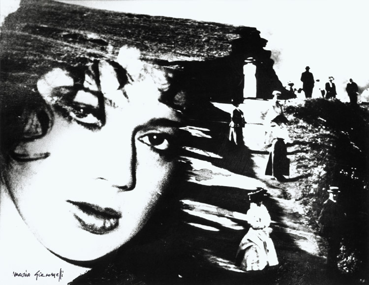 Mario Giacomelli - Montage of Woman's Face and Peasants