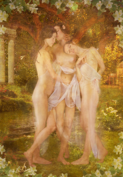 Claudia Kunin - Three Graces
