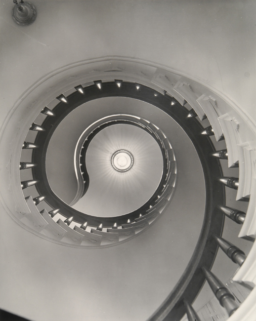 Clarence John Laughlin - The Magnificent Spiral (No. 3)