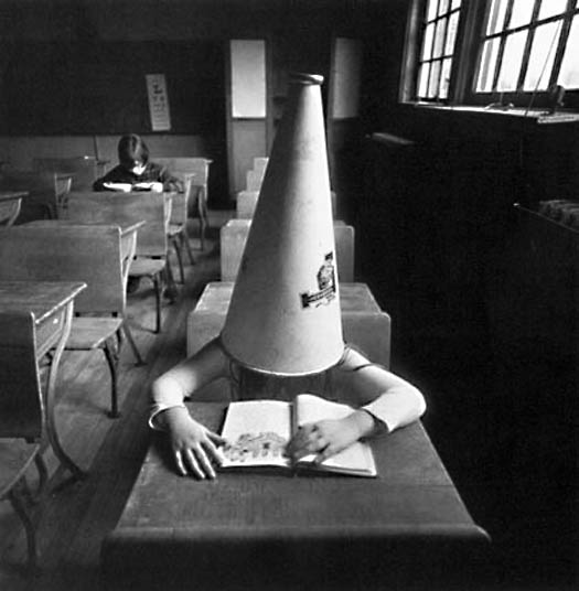 Arthur Tress - Girl with Dunce Cap, New York
