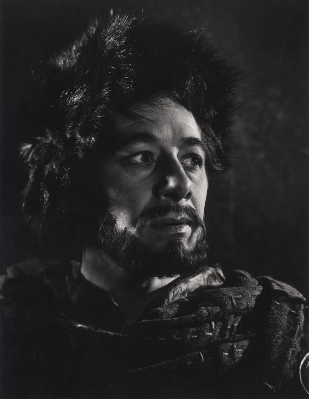 Angus McBean - Paul Rogers as Macbeth