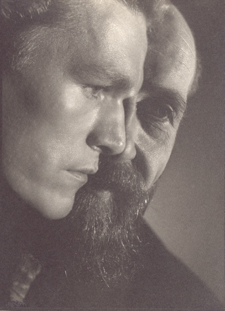 Angus McBean - Self-Portrait With David Ball