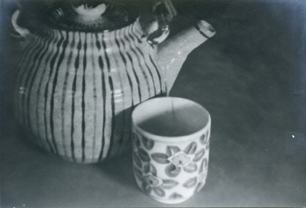 Anonymous (Tokyo Archive) - Untitled (ceramic teapot and teacup)