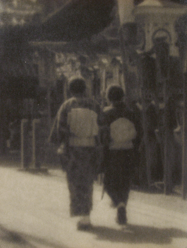Yoshiro Hirogane - Untitled (women walking)