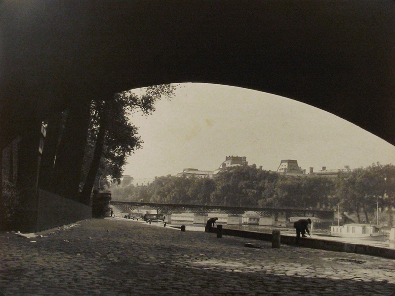 Anonymous (Tokyo Archive) - Untitled (Paris, view of Seine near Louvre)