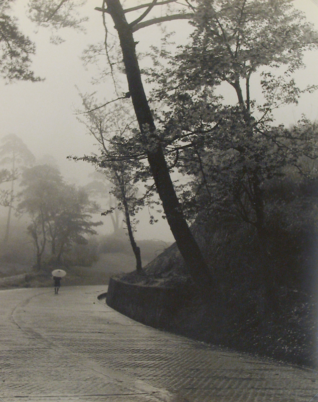 Koichi Sato - Untitled (landscape with figure on road)