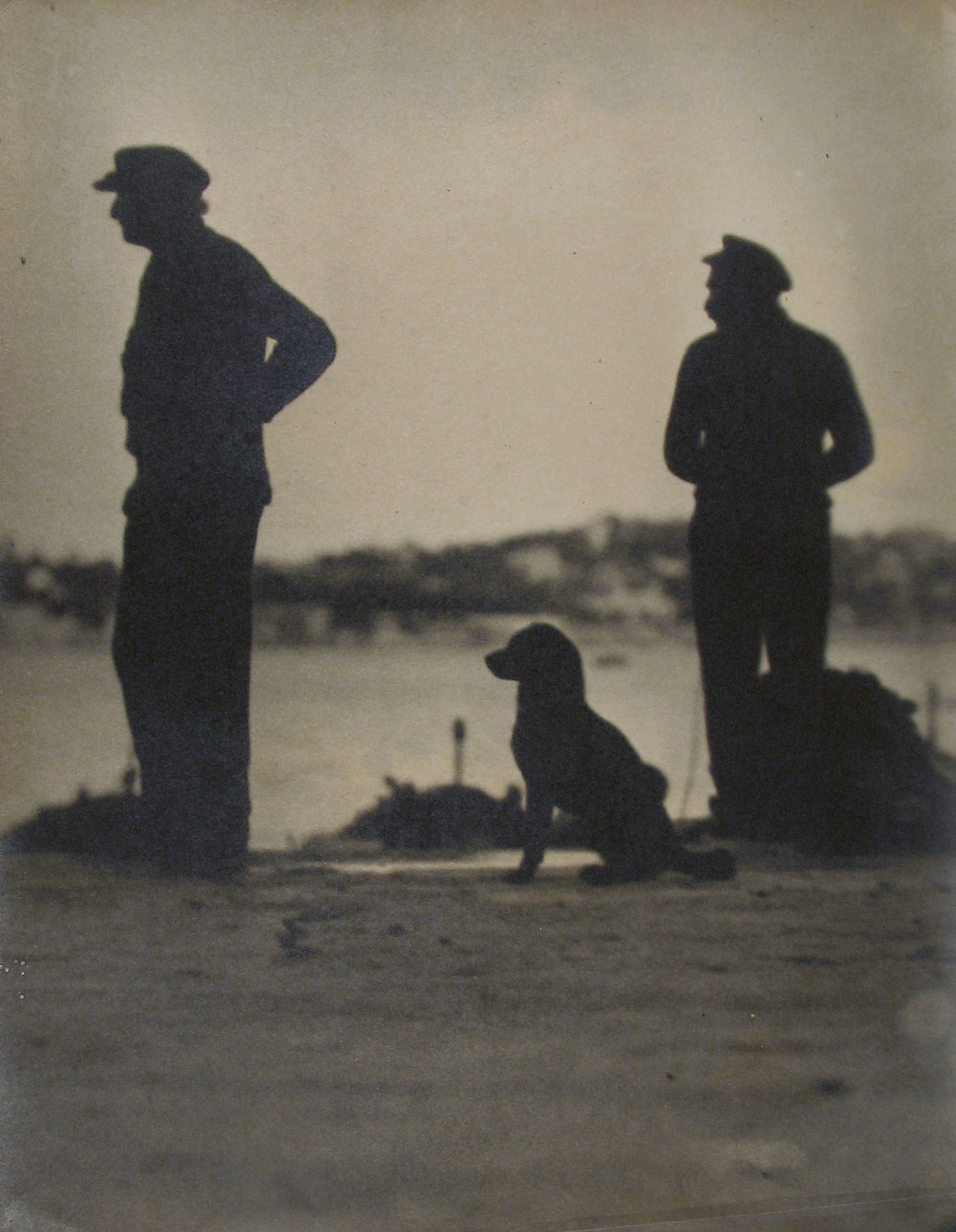 Anonymous (Tokyo Archive) - Two Figures With Dog
