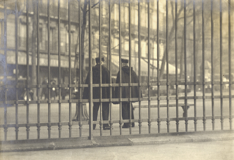 Anonymous (Tokyo Archive) - France: Two Policemen Behind Steel Gate