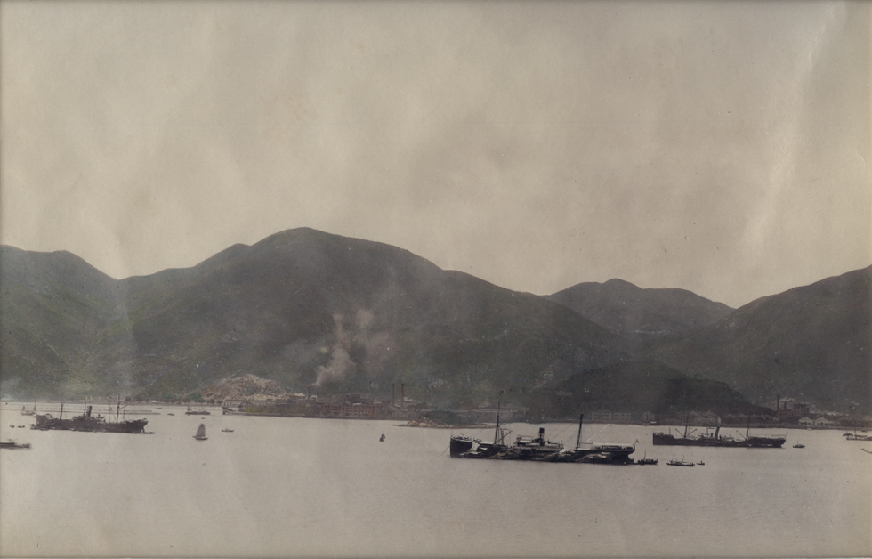 Anonymous - Four-Part Panorama of Hong Kong