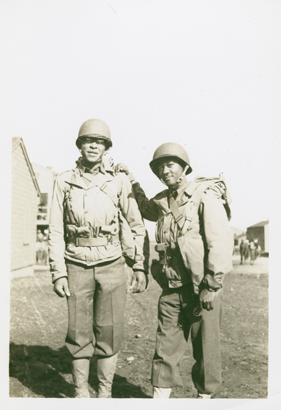 Anonymous (Two African American Photographers) - Large Collection of Photographs by Two African American Photographers: A Professional Military Photographer (in the US and the Phillippines) and an Amateur Photographer and Soldier(of US training camp and California Scenery)