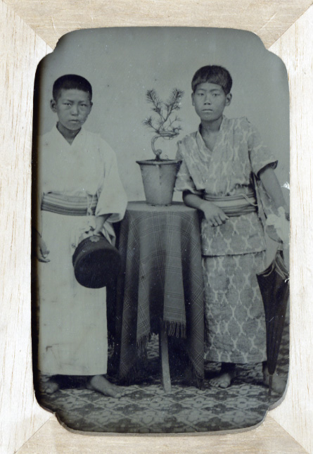 Anonymous - Portrait of Two Boys
