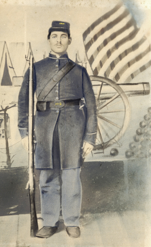 Anonymous, American - Portrait of a Soldier in the 27th Infantry Regiment (New York), Civil War