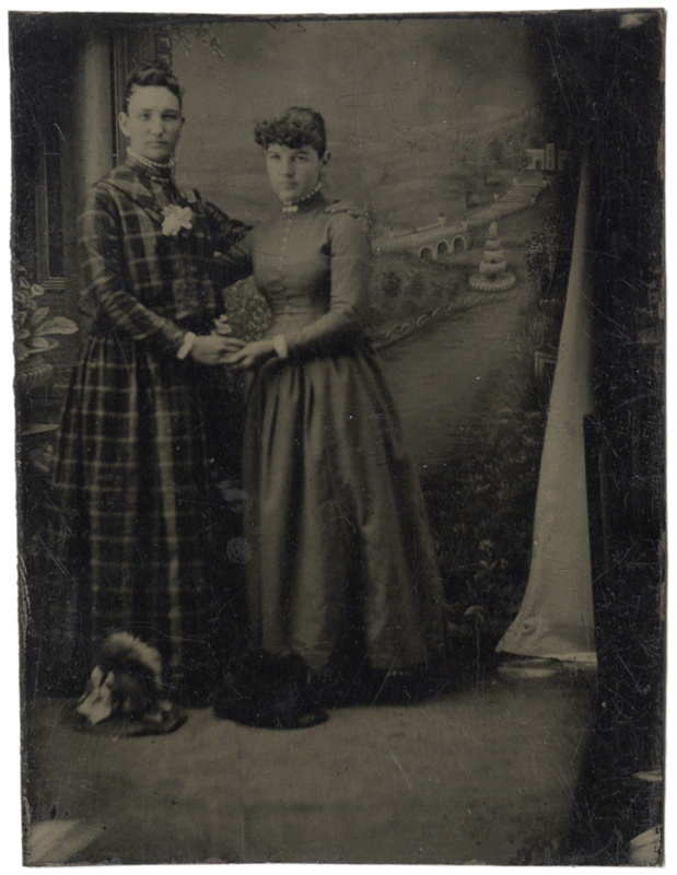 Photo Exhibit | Detail | Anonymous, American - Two Young Ladies