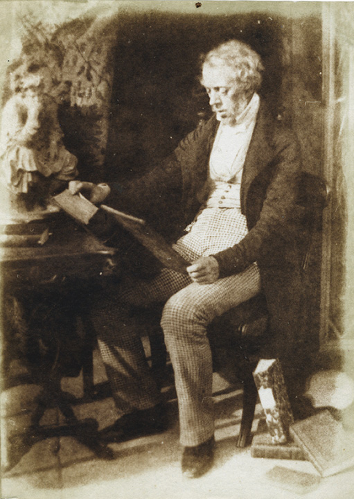 David Octavius Hill and Robert Adamson - Mr. John Gay (1790-1865)