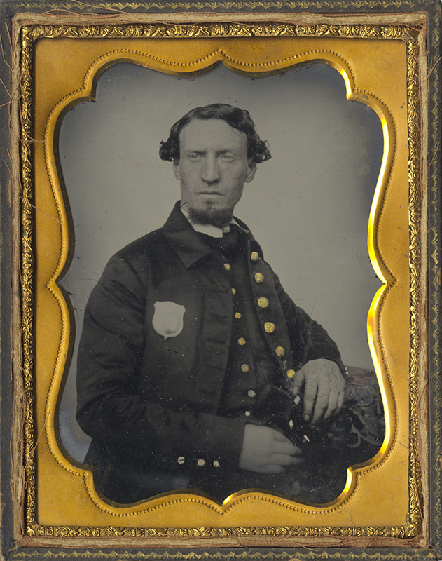 Anonymous, American - Portrait of a Policemen, Possibly N.Y.C.