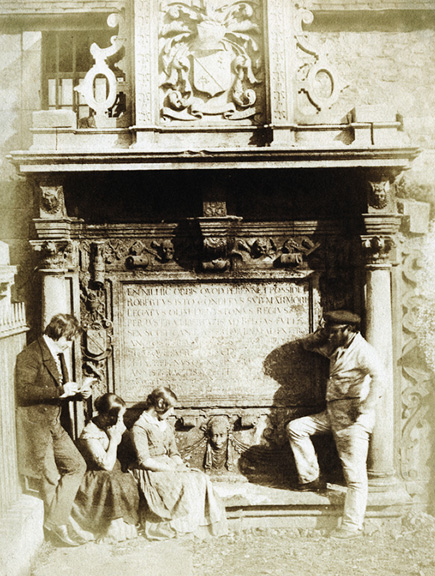 David Octavius Hill and Robert Adamson - The Artist and the Gravedigger