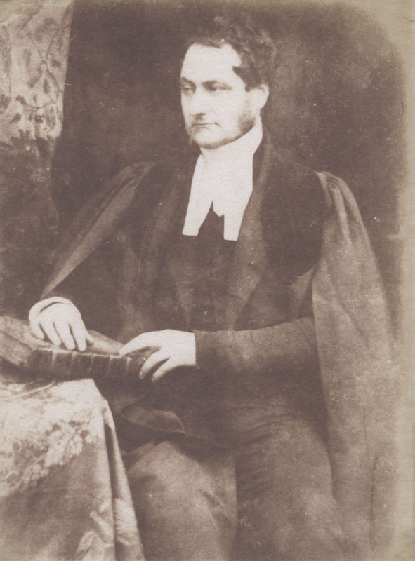 David Octavius Hill and Robert Adamson - Rev. Dr. David Arnott, Chaplain (1803-1877)