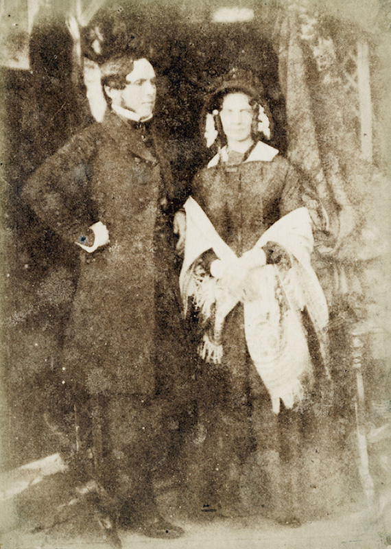 David Octavius Hill and Robert Adamson - Dr. and Mrs. Brown