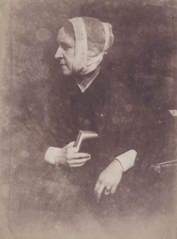 David Octavius Hill and Robert Adamson - Mrs. Mary (Hill) Watson