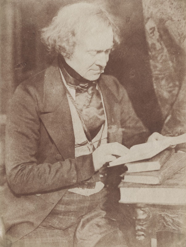 David Octavius Hill and Robert Adamson - Robert Stephen Rintoul, Editor of 'The Spectator' (1787-1858)