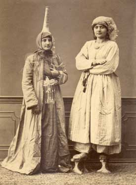 Pascal Sebah - Women From Damascus in Native Dress