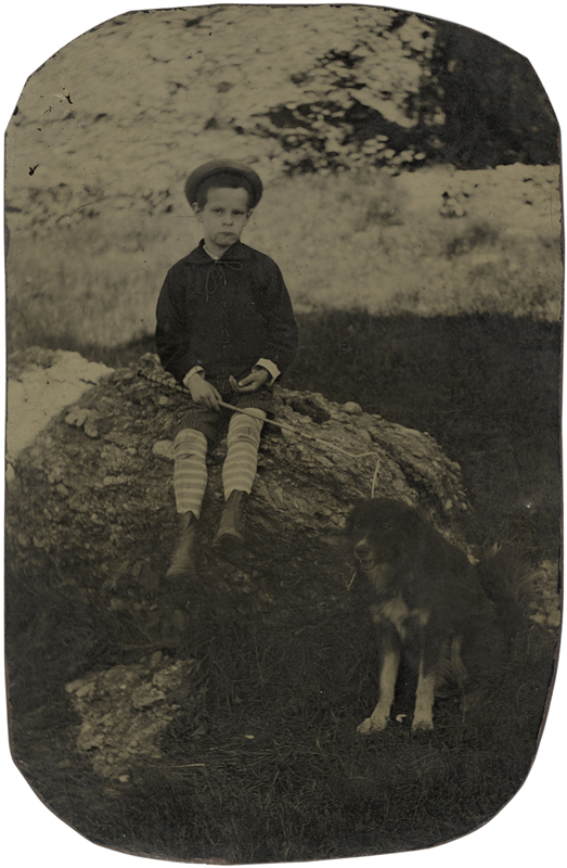 Anonymous - Boy with Dog