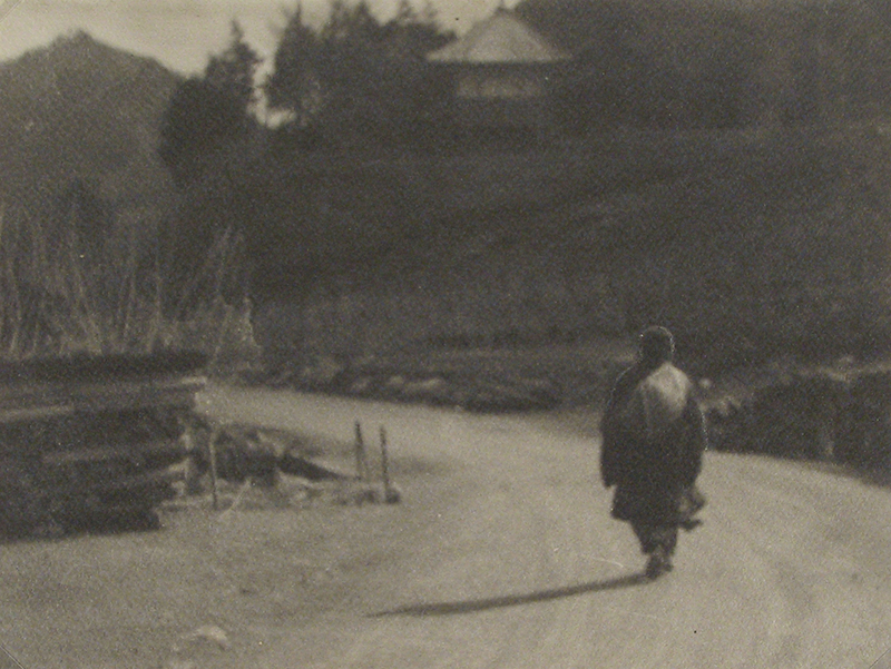 Anonymous (Tokyo Archive) - Untitled (Figure walking on a road)