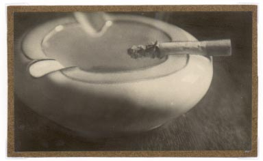Anonymous (Tokyo Archive) - Untitled (Cigarette Burning in Porcelain Ashtray)