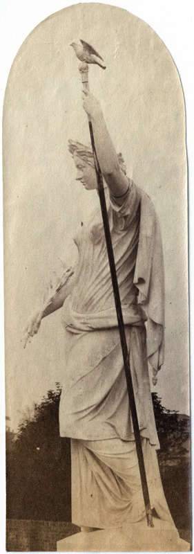 Anonymous - 13 Views of Garden Statues, 1862 International Exhibition at South Kensington