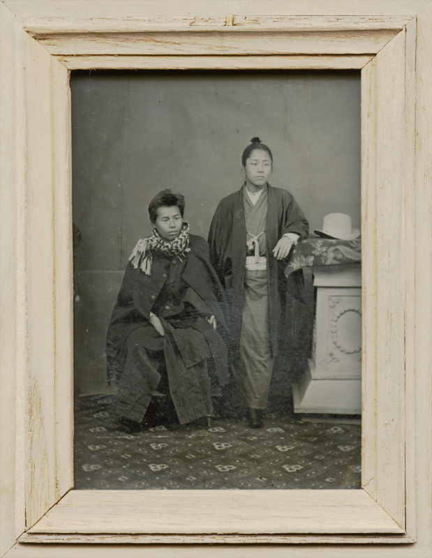 Anonymous - Portrait of Standing Man with Topknot 