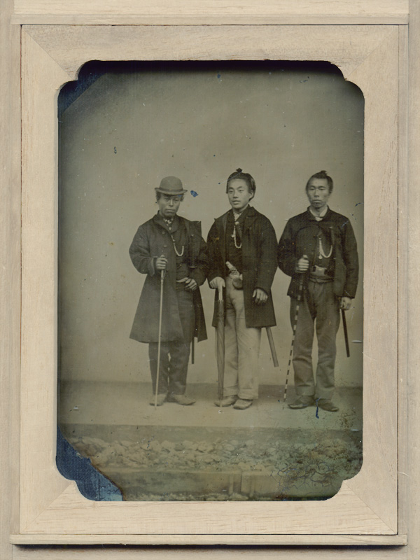 Anonymous - Three Japanese Men in Western Dress