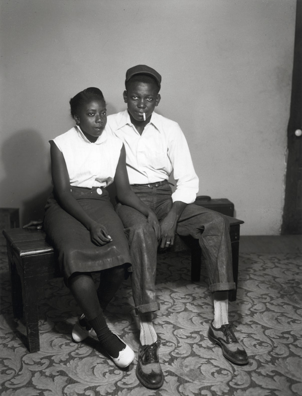 Photo Exhibit | Detail | Henry Clay Anderson - Anderson Collection: Seated Young Couple