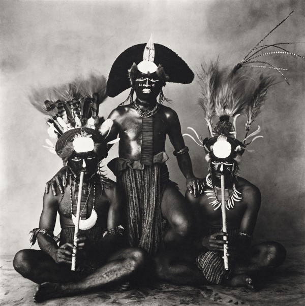 Irving Penn, 3 New Guinea Men
