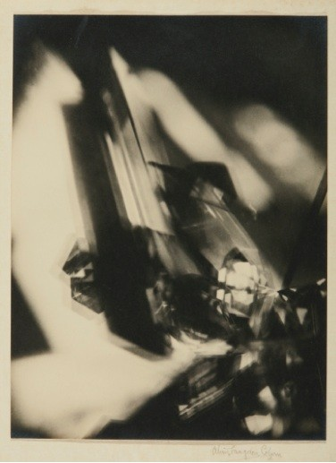 Alvin Langdon Coburn's Vortograph, sold for $605,000.